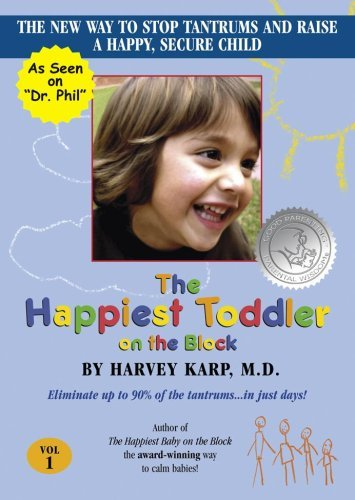 The Happiest Toddler on the Block DVD with Bonus Spanish Track by Dr. Harvey Karp