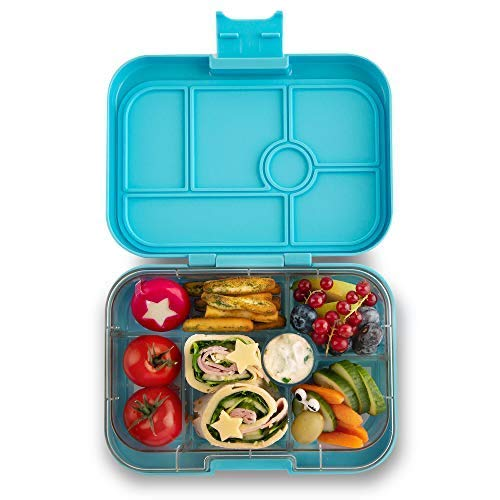 Yumbox Original Leakproof Bento Lunch Box Container (Nevis Blue)