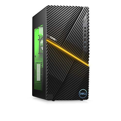 New Dell G5 Gaming Desktop, Intel Core i7-10th Gen, Nvidia GeForce GTX 1660 Super 4GB GDDR6, 512GB SSD Storage, 16GB RAM, Black (i5000-7439BLK-PUS)