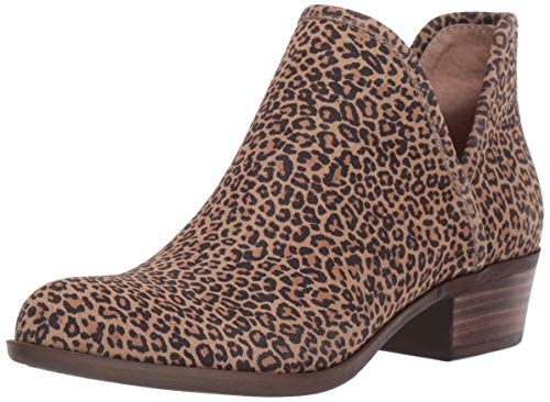 Lucky Brand womens Baley Ankle Boot, Eyelash, 8 US