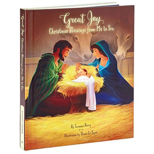 HMK Hallmark Gifts Book - Great Joy: A Book of Christmas Blessings Recordable Storybook