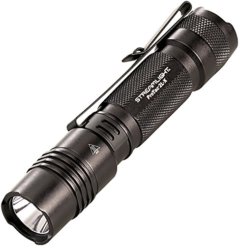 Streamlight 88063 ProTac 2L-X 500 Lumen Professional Tactical Flashlight with High/Low/Strobe Dual Fuel Use 2x CR123A or 1x Rechargeable Li-iON Batteries and Holster - 500 Lumens,Black
