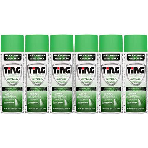 Ting Antifungal Spray Powder 4.50 oz ( Pack of 6)
