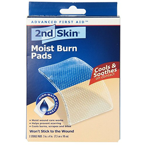 2nd Skin Moist Burn Pads 3 Inches X 4 Inches 3 Each (Pack of 3)