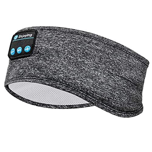 Navly Sleep Headphones Bluetooth Headband, Wireless Headband Headphones Headsets with Thin Speakers, Sleep Earbuds, Sleeping Headphones for Workout Running Yoga Sports Gift for Men Women
