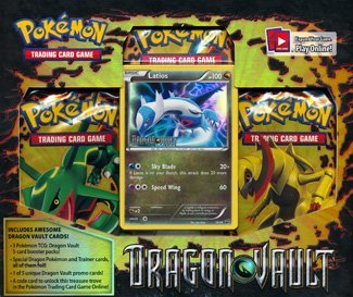 Latios: Pokemon Card Game Dragons Vault Special Edition 3-Pack [1 Booster Packs & 1 Promo Card]