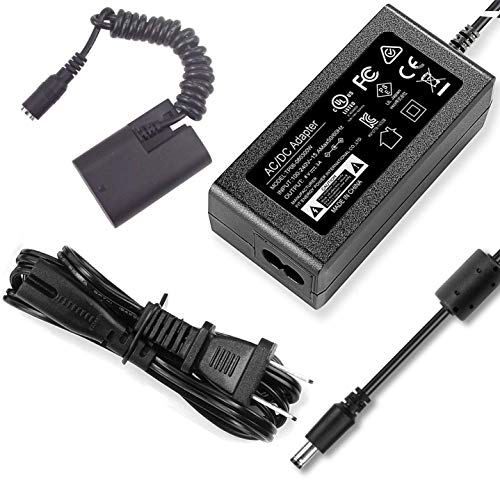 HY1C ACK-E6 DR-E6 AC Power Supply Adapter DC Coupler kit Replacement LP-E6/LP-E6N Battery for Canon EOS 5DS, 5DS-R, 6D, 60D, 60Da, 7D, 70D, 80D, 5D Mark II III IV, 7D Mark II DSLR Cameras