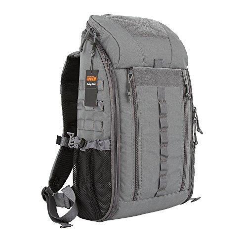 Excellent Elite Spanker Medical Backpack Tactical Knapsack Outdoor Rucksack Camping Survival First Aid Backpack(Grey)