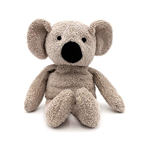 Thermal-Aid Zoo — Ollie The Koala — Kids Hot and Cold Pain Relief Heating Pad Microwavable Stuffed Animal and Cooling Pad — Easy Wash, Natural Sleep Aid — Pregnancy Must-Haves for Baby First Aid Kit