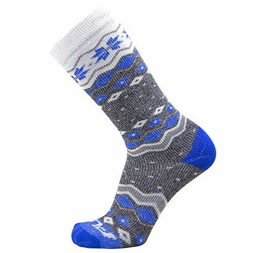 Pure Athlete Kids Ski Socks Girls Boys– Warm Wool Skiing Snowboard Sock Pack