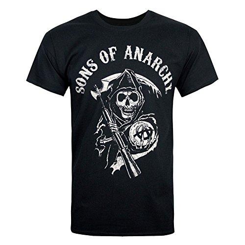 T-Shirt - Sons of Anarchy - Logo Black Medium