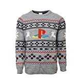 Official Playstation Console Christmas Jumper/Ugly Sweater UK 4XL/US 3XL Grey