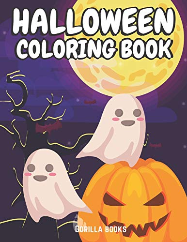 Halloween: Nightmare Coloring Book with Scary Decorations, Magic Spells, Horror Scenes, Shadows, Rituals, Pumpkins and Witches for Adults