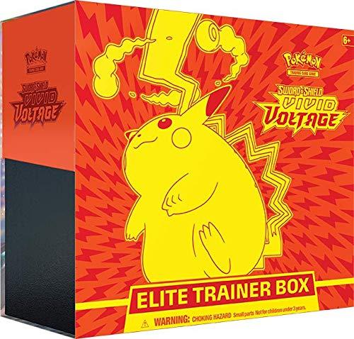 Pokémon Sword and Shield Vivid Voltage Elite Trainer Box EN