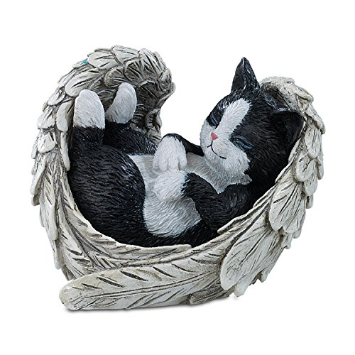 The Hamilton Collection Blake Jensen Cat Figurine: Furr-Ever in Our Hearts Figurine