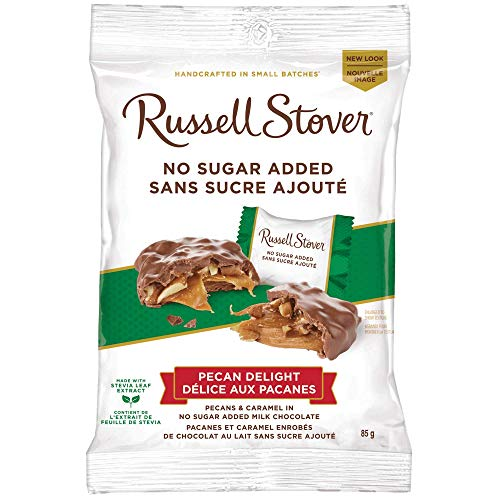 Russell Stover Sugar Free Pecan Delights, 3 oz bag (3 Pack)