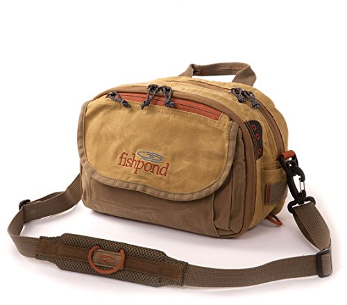 FishPond Blue River Chest/Lumbar Pack - Khaki/Sage Green