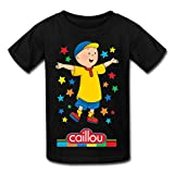 Youth Love Short Sleeve Caillou T-Shirt Black US Size L