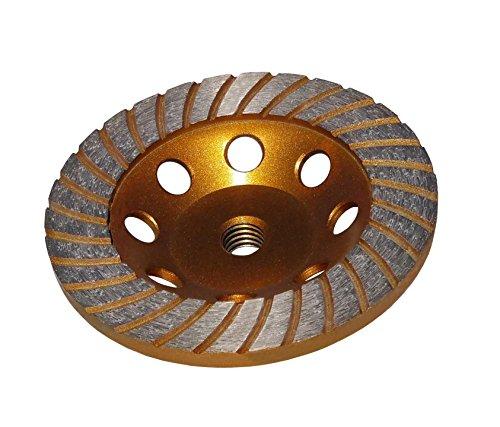 Stadea CWD101A Concrete Masonry Grinding Cup Wheel for Concrete Grinding, 4' Diamond Cup Wheels with 5/8' 11 Thread