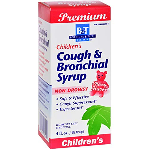 Natures Way B&T Syrup Cough N Brnchl Chil