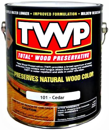 TWP/Gemini TWP101-1G TWP Total Wood Preservative, Cedar ~ One Gallon by TWP - Total Wood Preservative