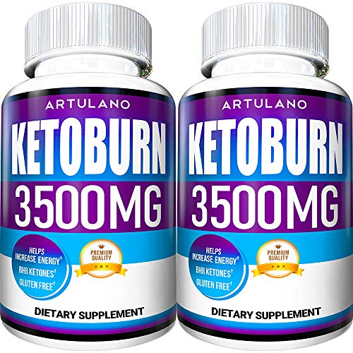 Keto Pills - 5X Potent (2-Pack | 3500MG) - Keto Diet Pills - Boost Energy and Metabolism - Exogenous Keto Bhb Supplement for Women and Men - 120 Capsules