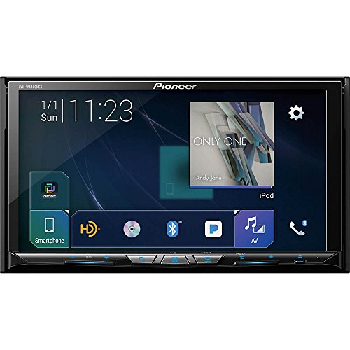 Pioneer AVH-W4400NEX In Dash Multimedia Receiver with 7' WVGA Clear Resistive Touchscreen Display