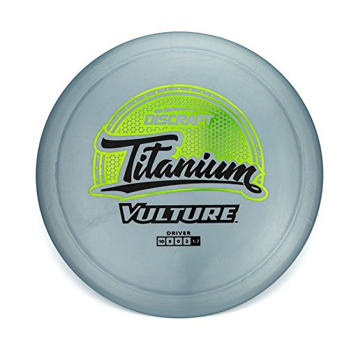 Discraft Titanium Vulture Distance Driver Golf Disc [Colors May Vary] - 173-174g