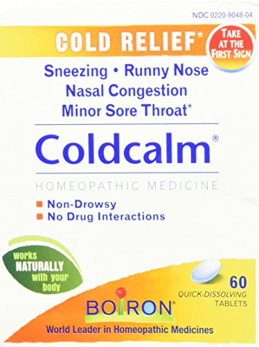 Boiron Coldcalm Cold Relief Tablets, 2 Count