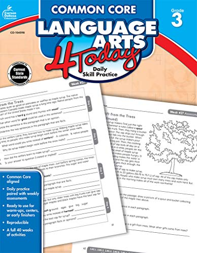 Common Core Language Arts 4 Today, Grade 3 (Common Core 4 Today)