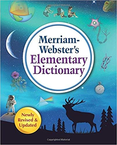 [0877797455] [9780877797456] Merriam-Webster's Elementary Dictionary, New Edition (c) 2019 - Hardcover