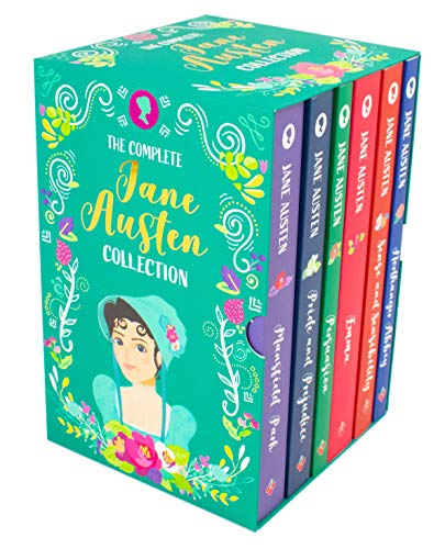 The Complete Jane Austen Collection - 6 Book Box Set (Sense and Sensibility, Pride and Prejudice, Mansfield Park, Emma, Northanger Abbey and Persuasion)