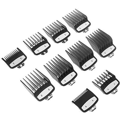 Cacat Clipper Guard Set Attachment Combs Portable Durable Metal for Wahl Premium Home