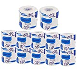 12 Rolls Ultra Gentle Care Toilet Paper - 4 Layers Dissolvable Toilet Paper, Professional Bulk Toilet Paper with Individually Wrapped Standard Rolls, Ultra Strong Toilet Paper for Camping, Marine