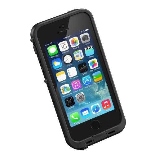 LifeProof FRĒ iPhone 5/5s Waterproof Case - Retail Packaging - BLACK