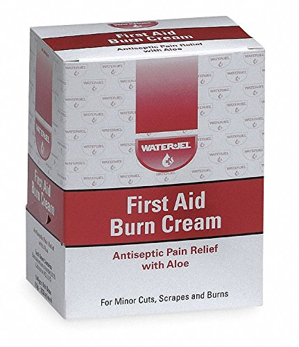 4501214 PT# WJFA-1728 Cream First Aid Antiseptic 1/32oz 0.9gm w/ Aloe Packet 144/Bx Made by Waterjel Technologies