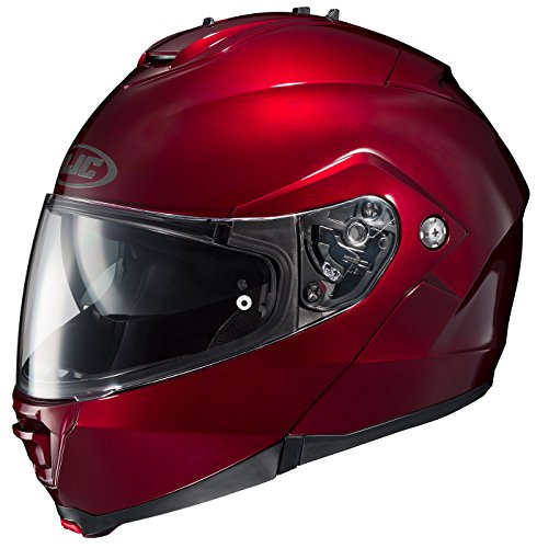 HJC 980-263 IS-MAX II Modular Motorcycle Helmet (Wine, Medium)