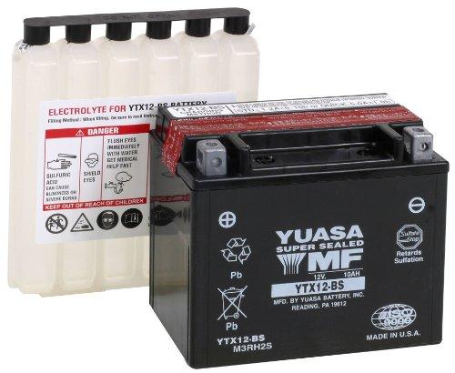 Yuasa YUAM3RH2S YTX12-BS Battery