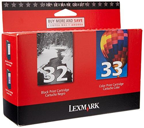 Lexmark 18C0532 #32/#33 Twin Pack ink Cartridges