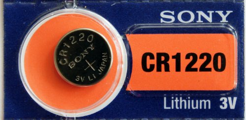 Sony Lithium 3V Batteries Size CR1220 (Pack of 5)