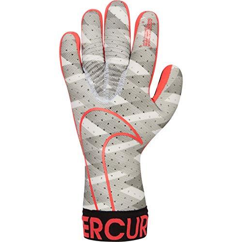 Nike Goalkeeper Mercurial Touch Elite Gloves - White-Black-Crimson 8