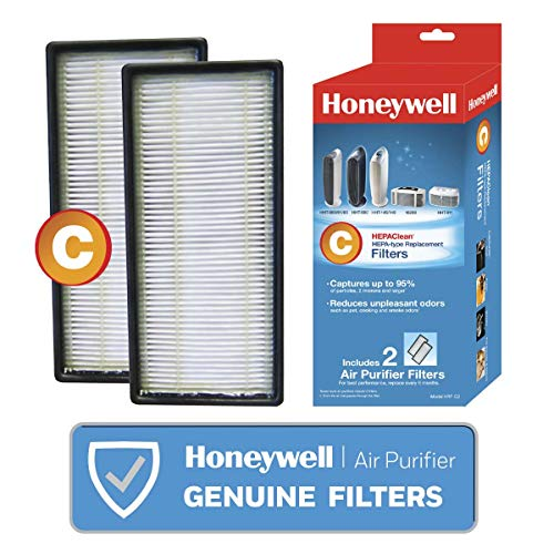 Honeywell HEPAClean Air, 2 count, C Filter, 2 count