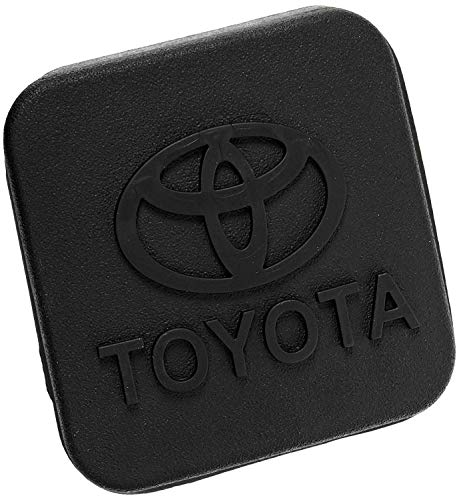 BoJie Car Trailer Hitch Cover,with Toyot a Logo for Toyot a Accessories PT228-35960-HP Receiver Tube Hitch Plug(Black)