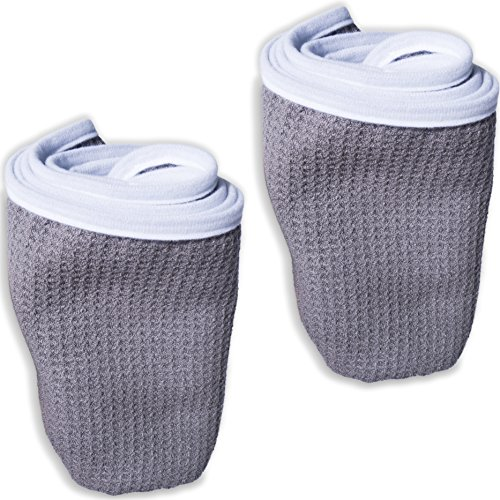 Fitness Gym Towels (2 Pack) for Workout, Sports and Exercise - Soft, Lightweight, Quick-Drying, Odor-Free