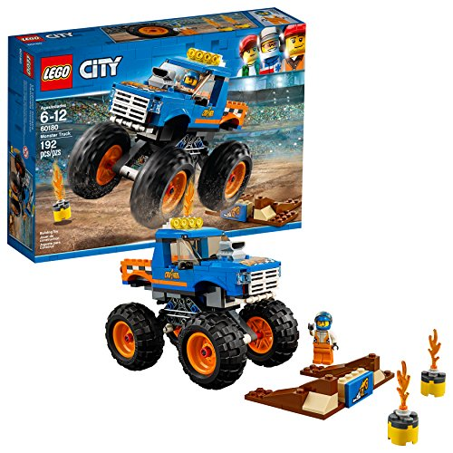 LEGO City Monster Truck 60180 Building Kit (192 Pieces) (Discontinued by Manufacturer)