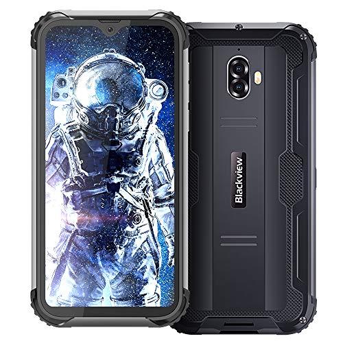 Rugged Cell Phones Unlocked, Blackview BV5900 (2020) 3GB+32GB Rugged Smartphone, 5580mAh 5.7' Dual sim Unlocked Cell Phones, Android 9.0 Waterproof Unlocked Smartphones, NFC Fingerprint tmobile Phone