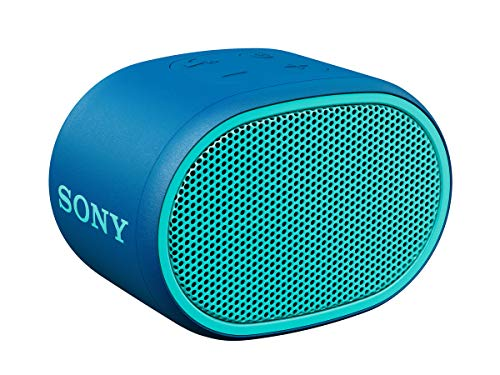 Sony SRS-XB01 Compact Portable Bluetooth Speaker: Loud Portable Party Speaker - Built in Mic for Phone Calls Bluetooth Speakers - Blue - SRS-XB01