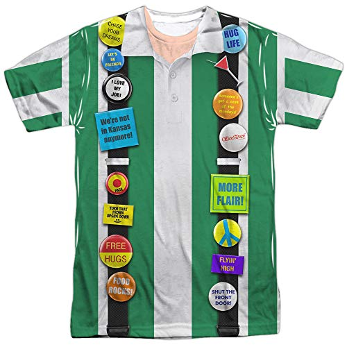 Office Space- Chotchkies Flare Costume Tee T-Shirt Size S