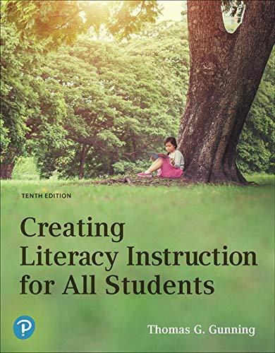 Creating Literacy Instruction for All Students plus MyLab Education with Pearson eText -- Access Card Package (Myeducationlab)