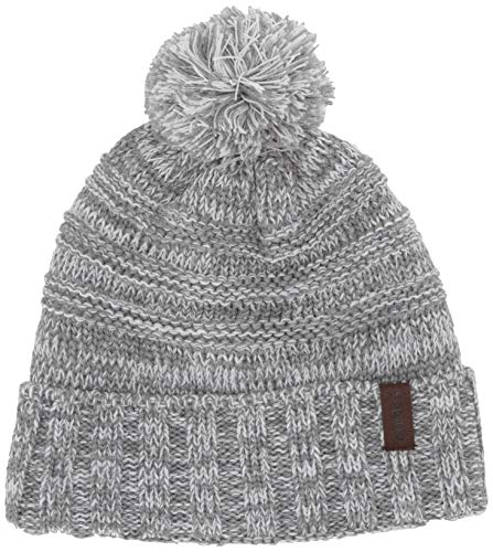 adidas Men's Recon Ballie Beanie, White - Light Grey Heather Marl, ONE SIZE